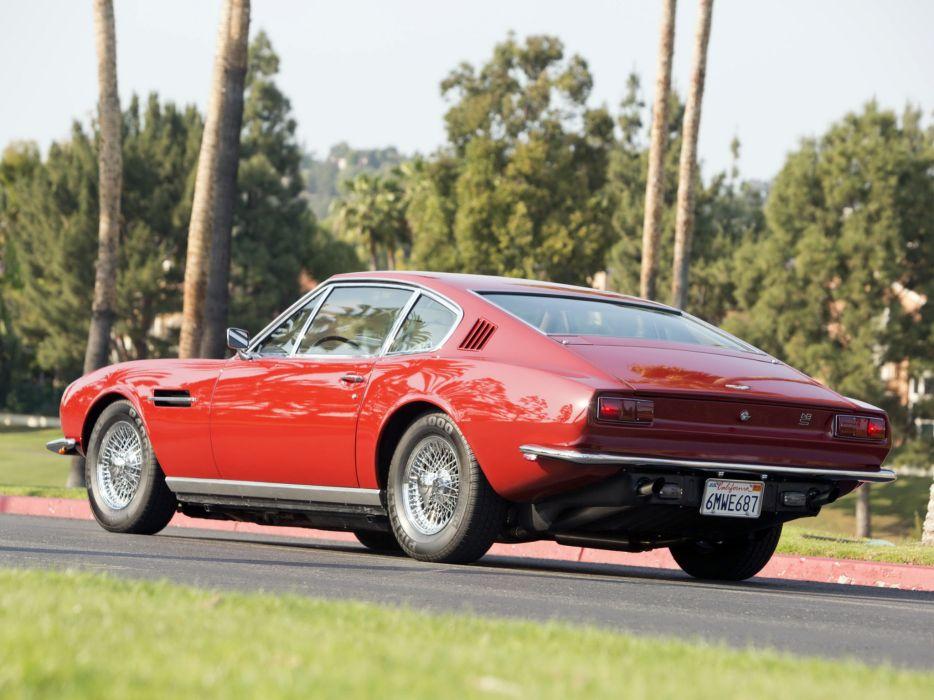 1967-72 Aston Martin DBS Vantage supercar classic   dw wallpaper