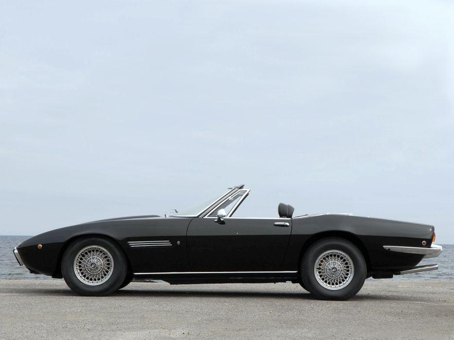 1969-73 Maserati Ghibli Spyder supercar classic eq wallpaper