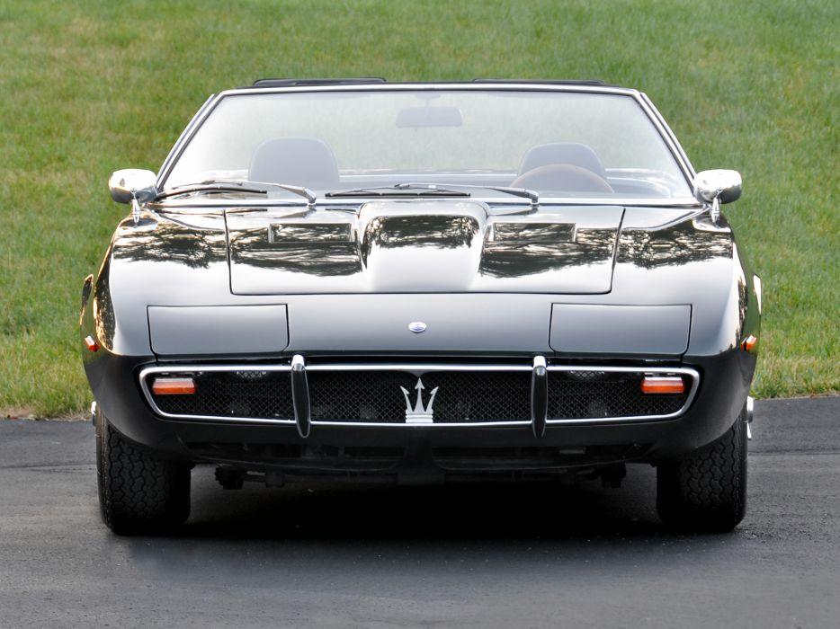 1969-73 Maserati Ghibli Spyder supercar classic es wallpaper