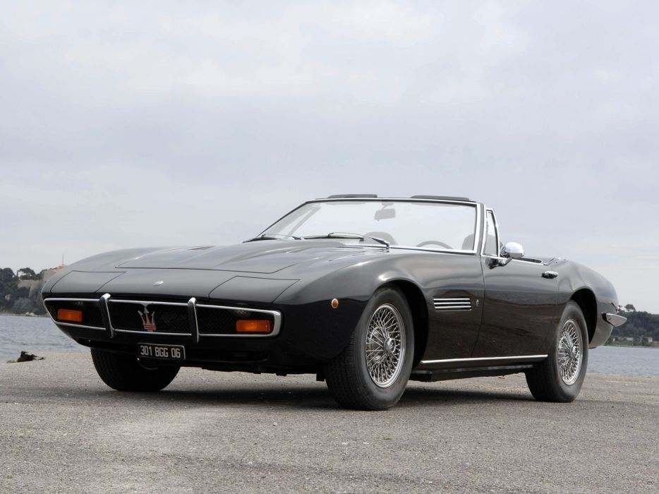 1969-73 Maserati Ghibli Spyder supercar classic a wallpaper