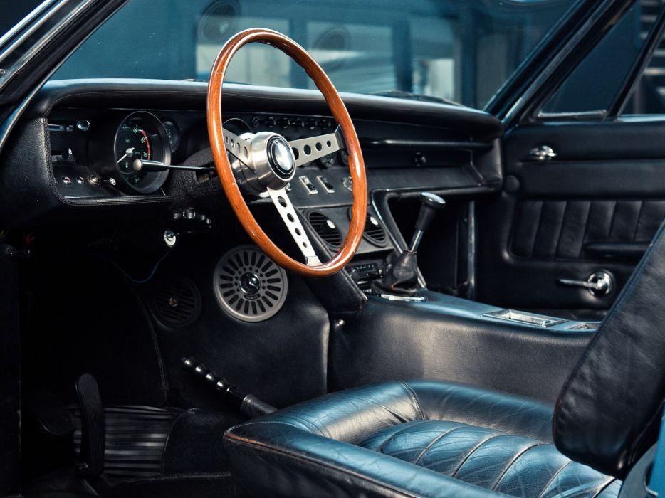 1969-73 Maserati Ghibli Spyder supercar classic interior   f wallpaper