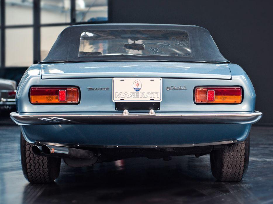 1969-73 Maserati Ghibli Spyder supercar classic  e wallpaper