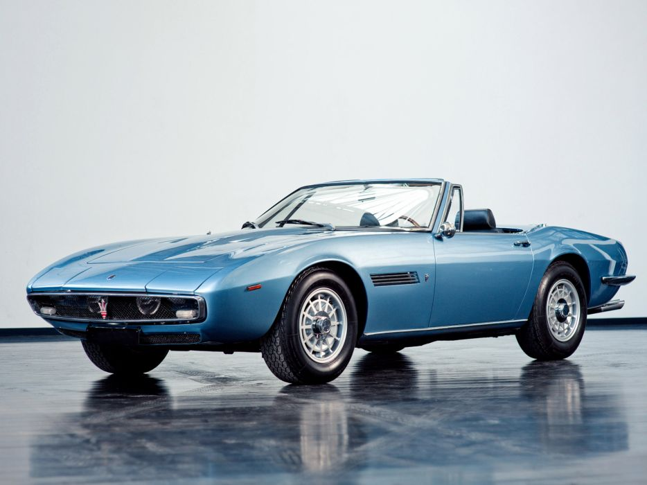 1969-73 Maserati Ghibli Spyder supercar classic  r wallpaper
