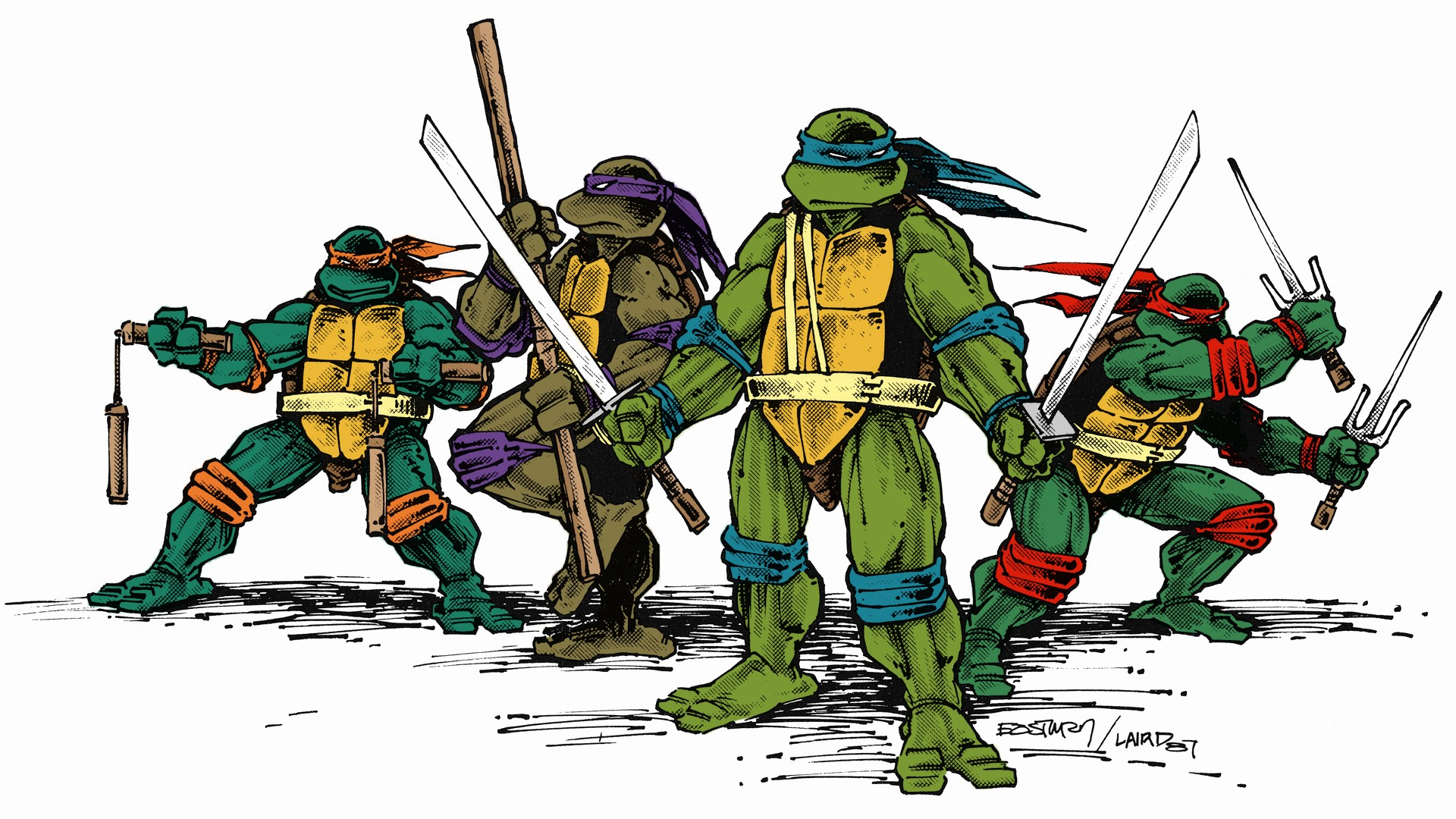 Teenage Mutant Ninja Turtles wallpaper 1920x1080 214746