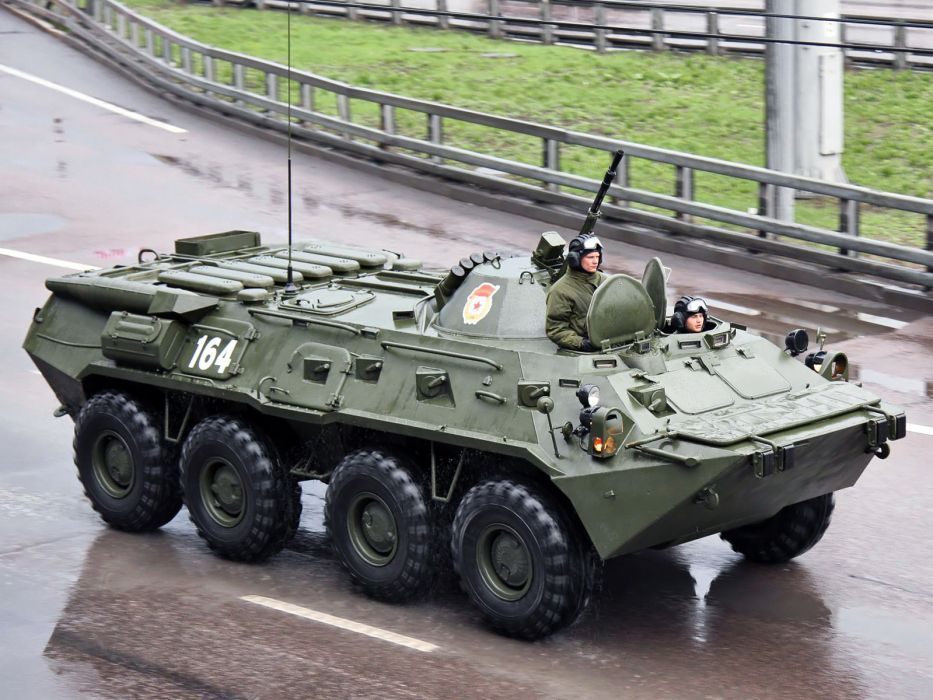 1984 GAZ 5903 BTR 80 military 8-0     h wallpaper