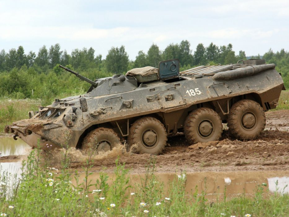 1984 GAZ 5903 BTR 80 military 8-0 8x8    s wallpaper