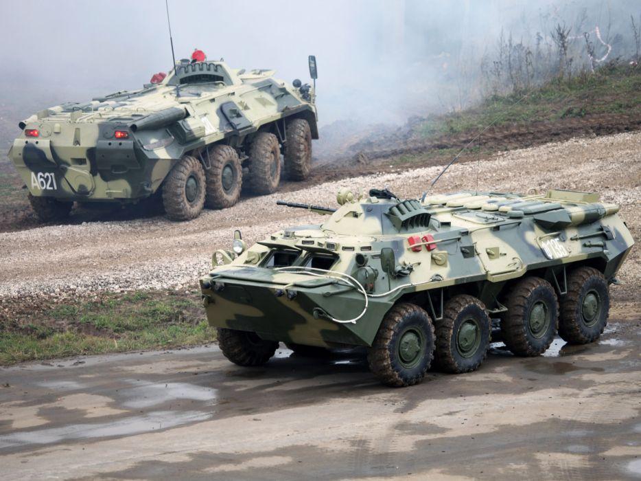 1984 GAZ 5903 BTR 80 military 8-0 8x8   a wallpaper