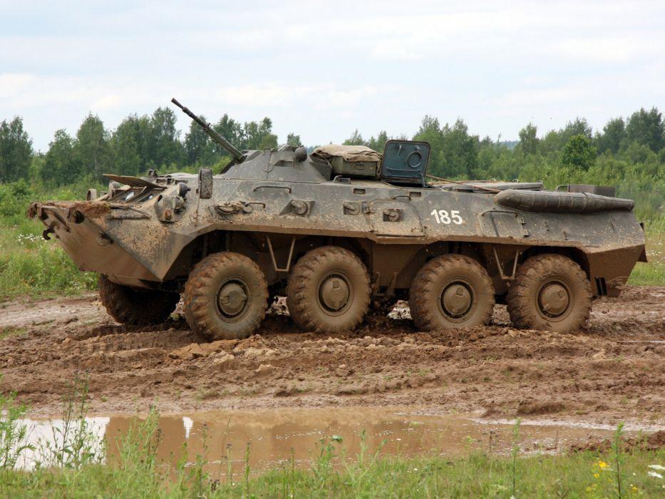 1984 GAZ 5903 BTR 80 military 8-0 8x8   aw wallpaper
