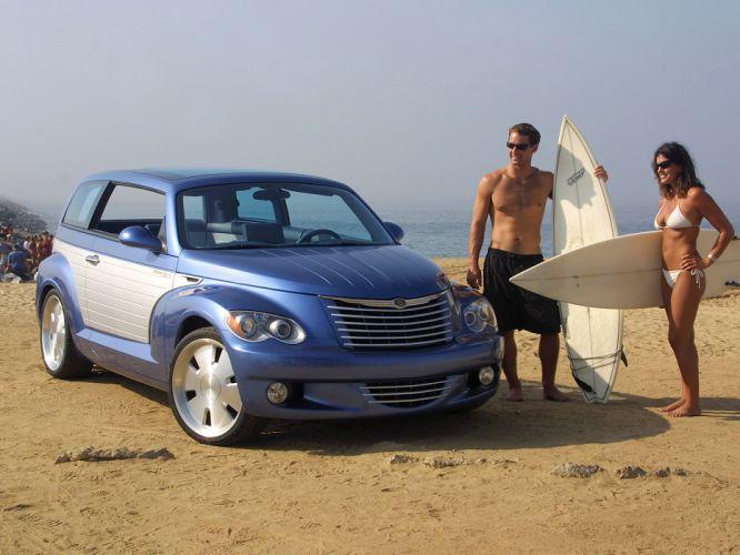 2002 Chrysler California Cruiser Concept custom tuning suv b wallpaper
