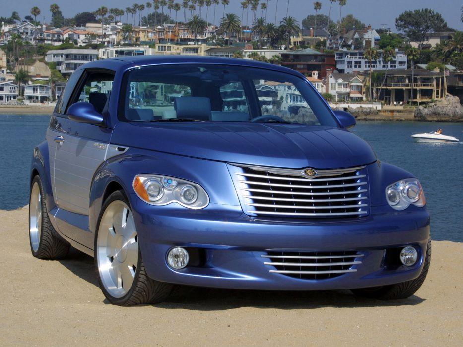 2002 Chrysler California Cruiser Concept custom tuning suv c wallpaper