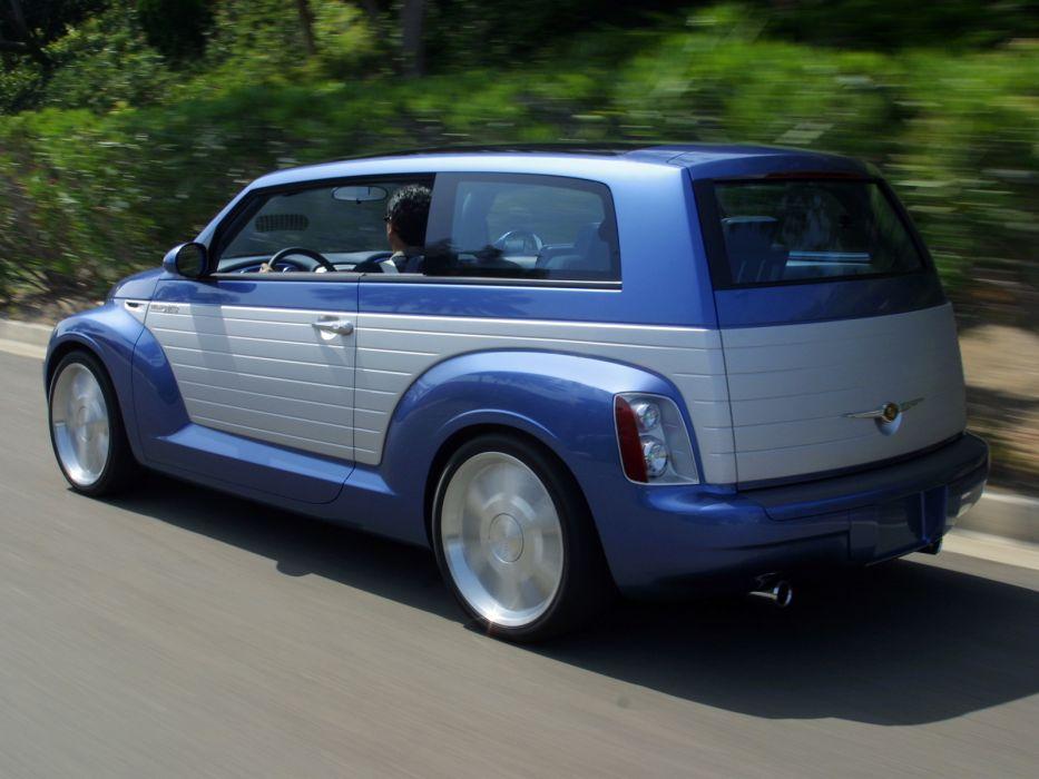 2002 Chrysler California Cruiser Concept custom tuning suv   r wallpaper
