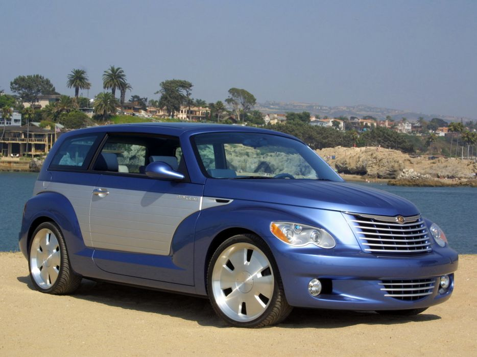 2002 Chrysler California Cruiser Concept custom tuning suv   w wallpaper