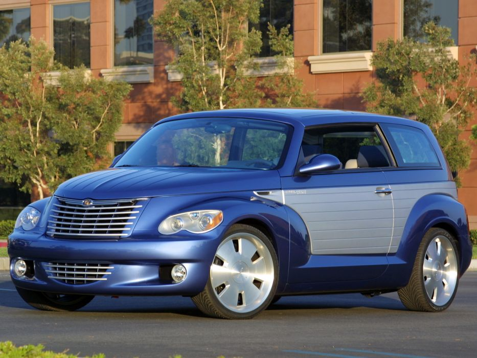 2002 Chrysler California Cruiser Concept custom tuning suv   d wallpaper