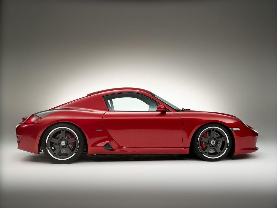 2007 Coupe Porsche Cayman tuning    f wallpaper