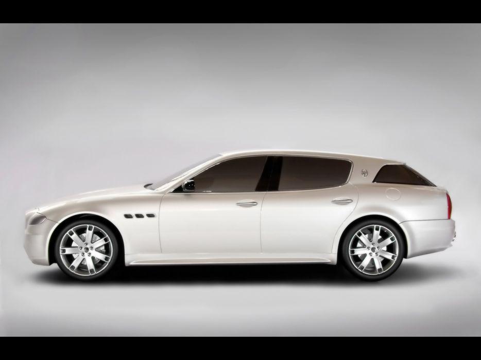 2008 Maserati Cinqueporte Concept   g wallpaper