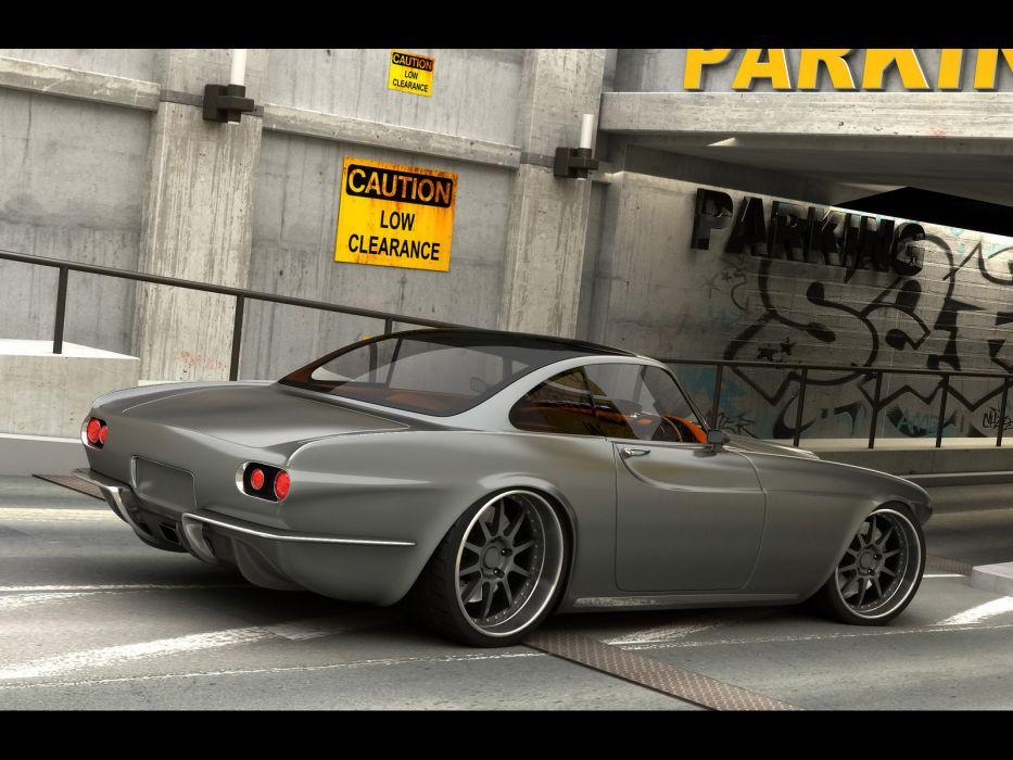 2009 Vox P1800 Concept supercar volvo   f wallpaper