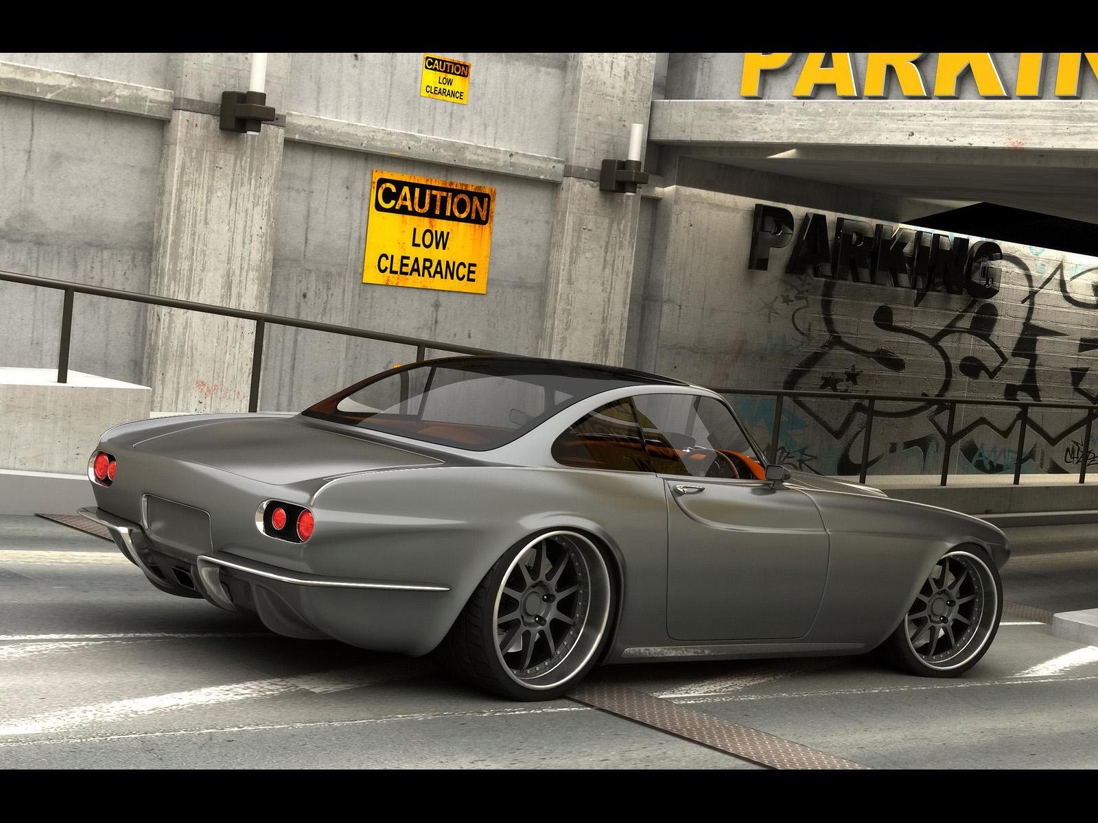 2009 Vox P1800 Concept supercar volvo f wallpaper ...