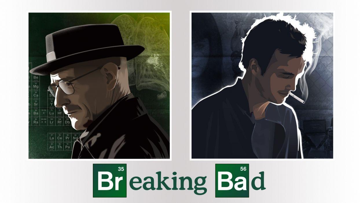 Breaking Bad Walter White Jesse Pinkman Heisenberg wallpaper