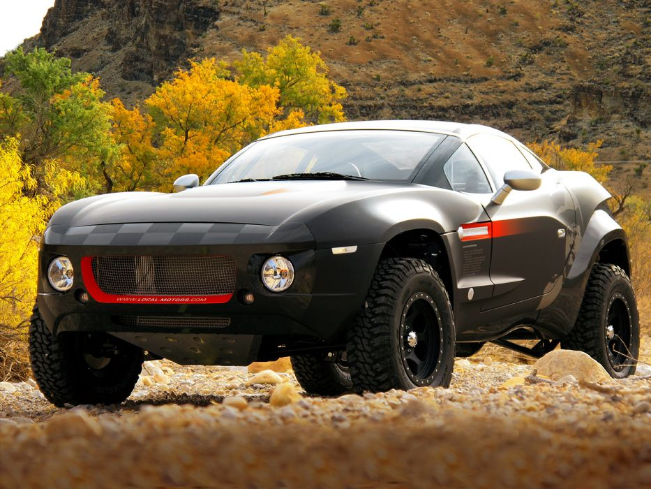 2010 Local-Motors Rally Fighter 4x4 offroad race racing hot rod rods  e wallpaper