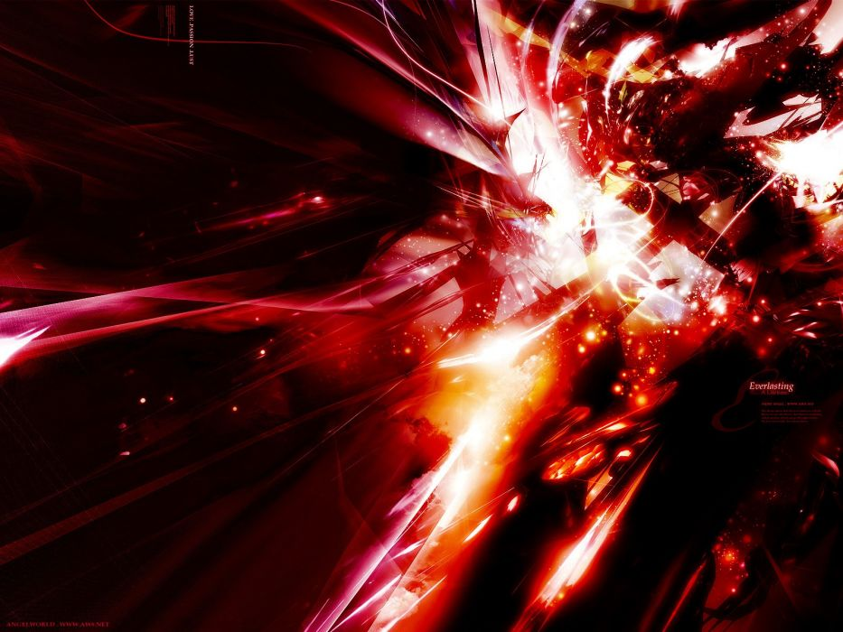 Light Abstract Black Dark Red White Wallpaper 1600x1200