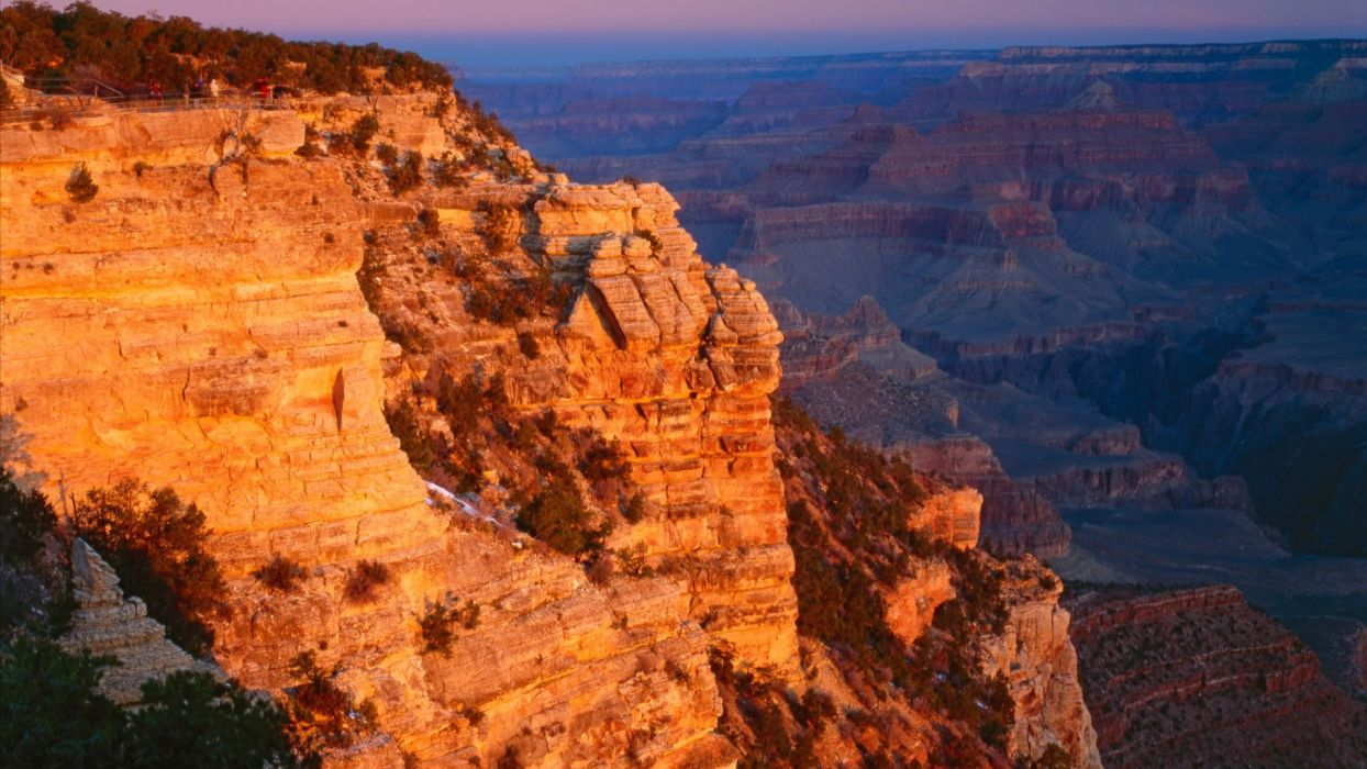 sunrise point canyon Arizona Grand Canyon wallpaper