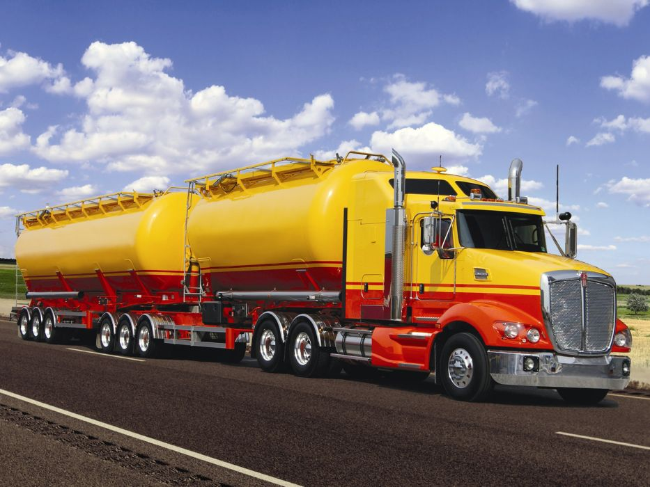 2011 Kenworth T609 semi tractor      h wallpaper