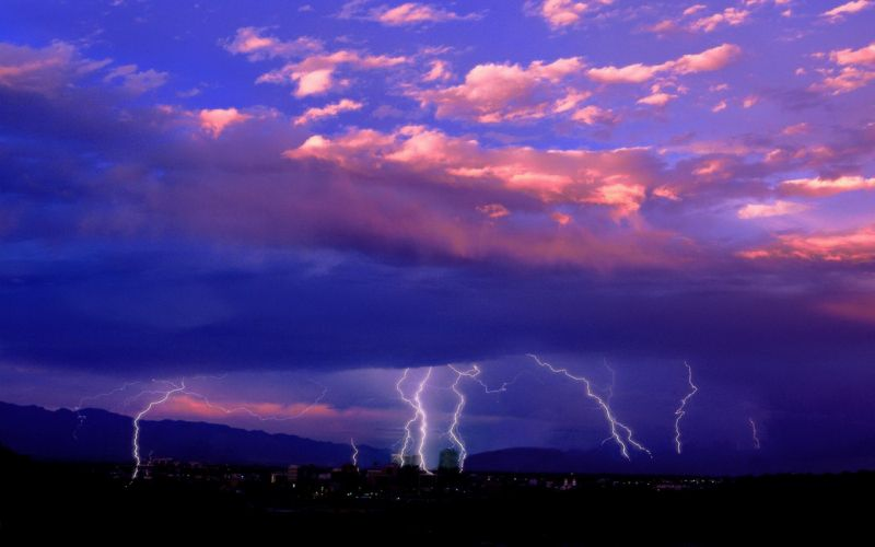 clouds landscapes nature cityscapes storm outdoors lightning wallpaper