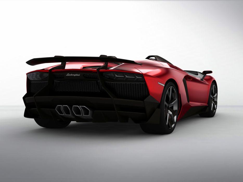 2012 Lamborghini Aventador J supercar    f wallpaper