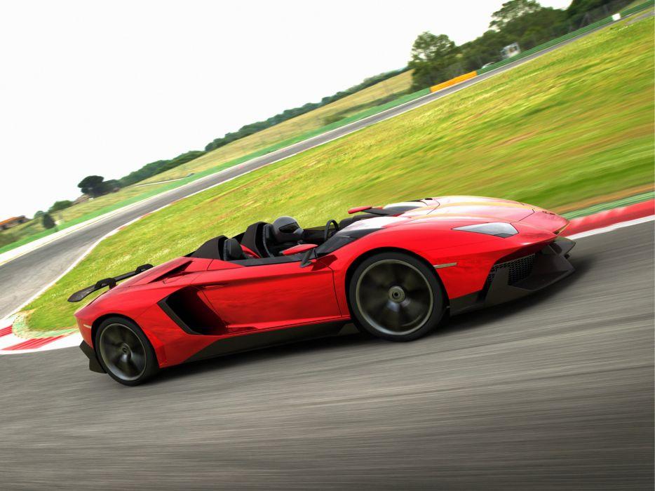 2012 Lamborghini Aventador J supercar   e wallpaper