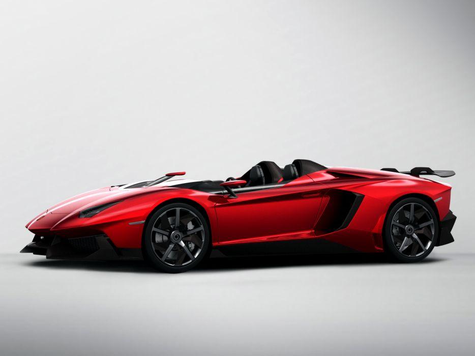 2012 Lamborghini Aventador J supercar   d wallpaper
