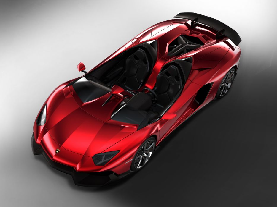 2012 Lamborghini Aventador J supercar  wq wallpaper