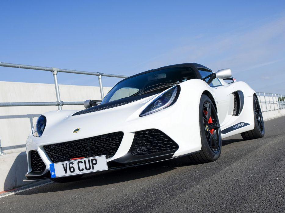 2012 Lotus Exige V6 Cup UK-spec supercar race racing v-6  f wallpaper
