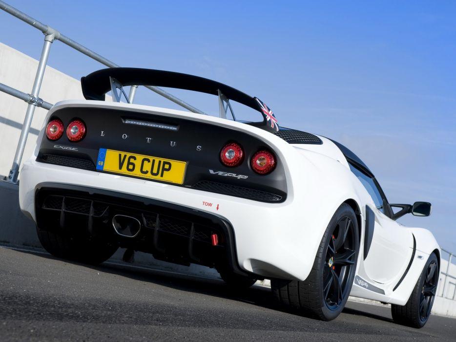 2012 Lotus Exige V6 Cup UK-spec supercar race racing v-6   e wallpaper