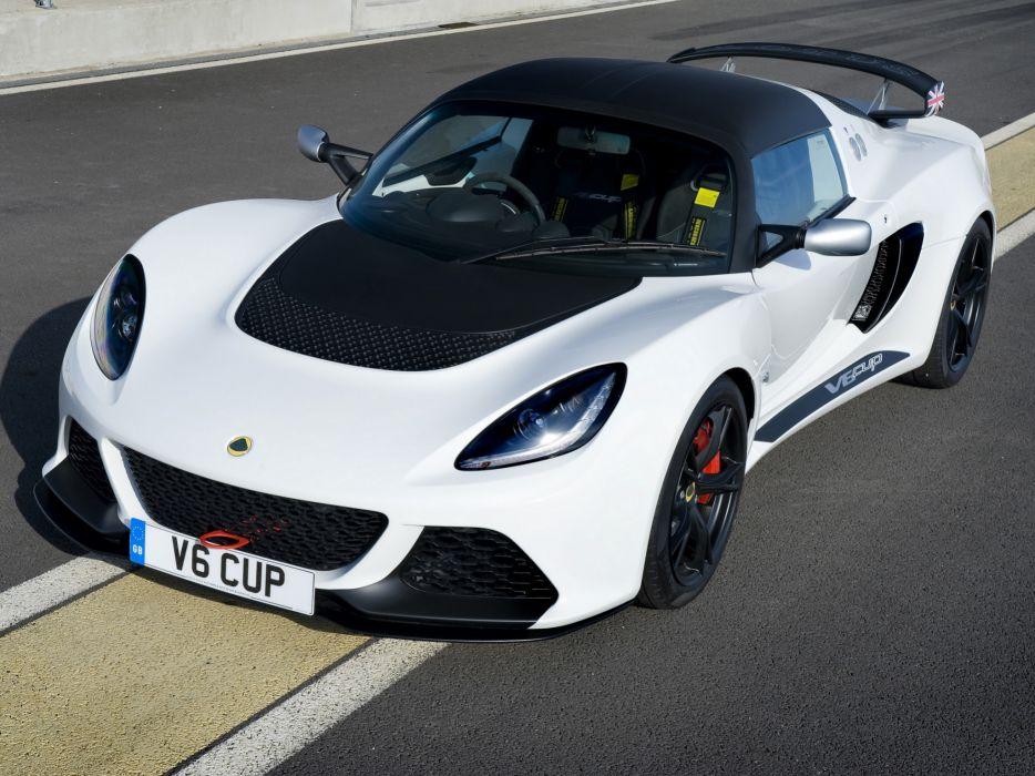 2012 Lotus Exige V6 Cup UK-spec supercar race racing v-6    g wallpaper
