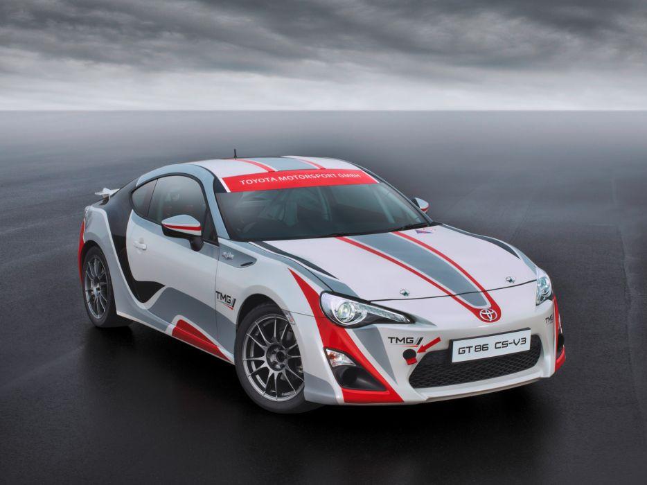 2012 TMG Toyota G-T 86 CS-V3 tuning race racing     h wallpaper