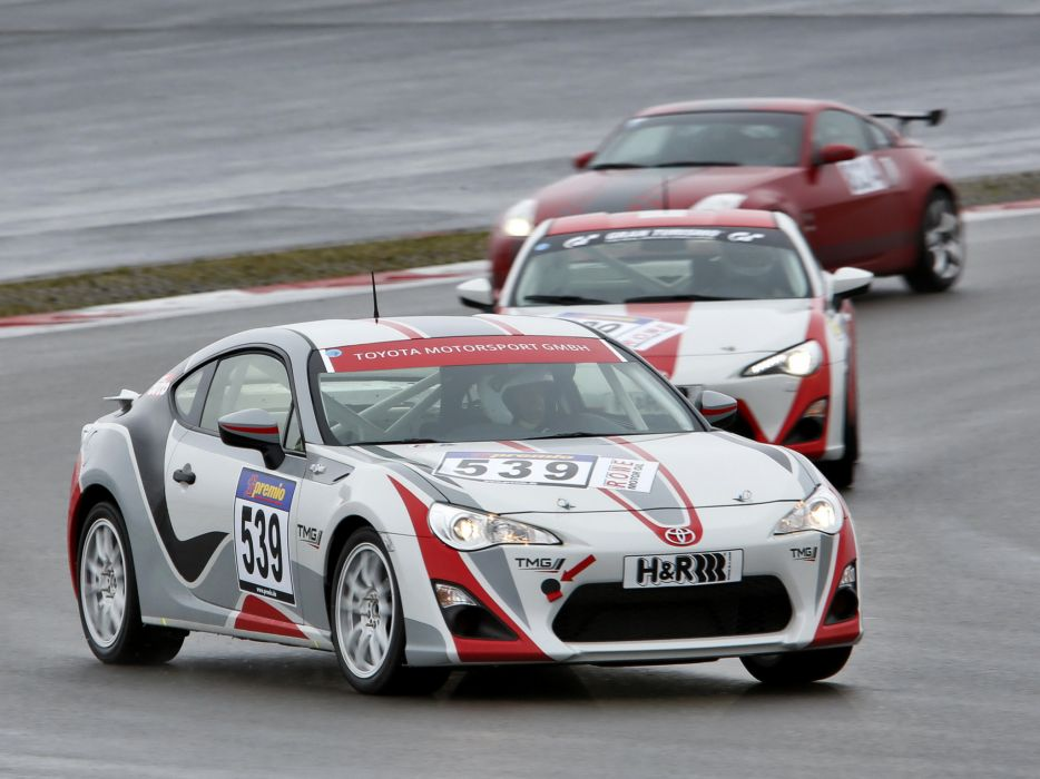 2012 TMG Toyota G-T 86 CS-V3 tuning race racing  w wallpaper