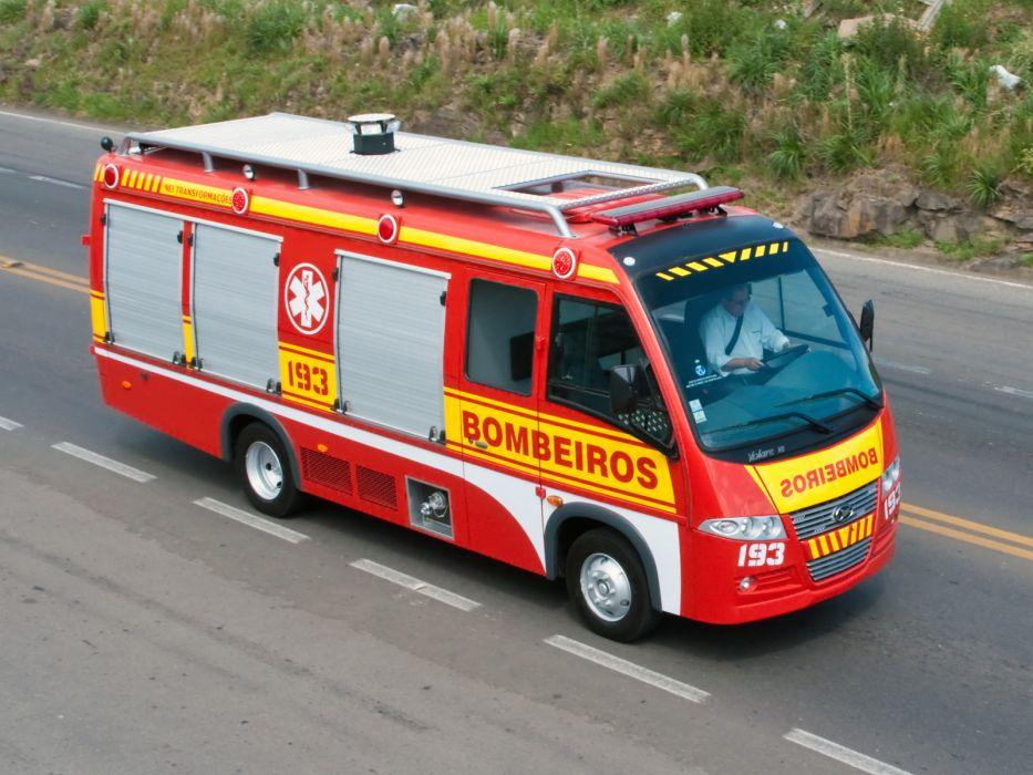2012 Volare V8 Bombeiros firetruck emergency   r wallpaper