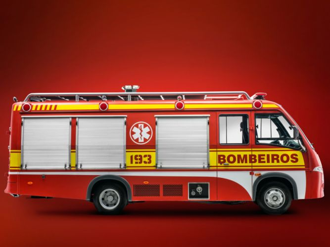 2012 Volare V8 Bombeiros firetruck emergency h wallpaper