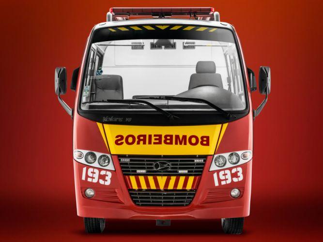 2012 Volare V8 Bombeiros firetruck emergency f wallpaper