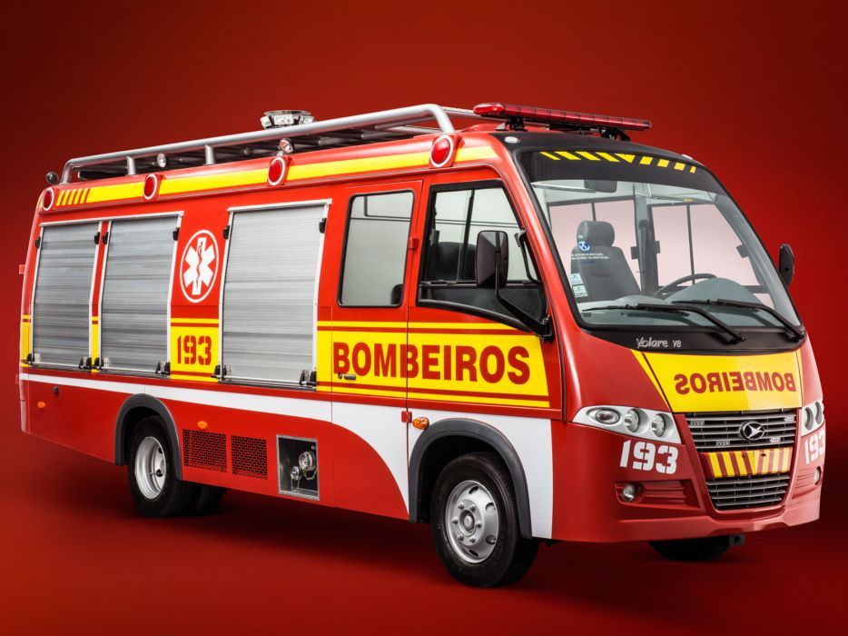 2012 Volare V8 Bombeiros firetruck emergency  r wallpaper