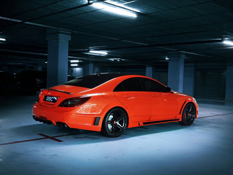 2013 GSC Mercedes Benz CLS63 AMG Stealth B-S (C218) tuning        d wallpaper