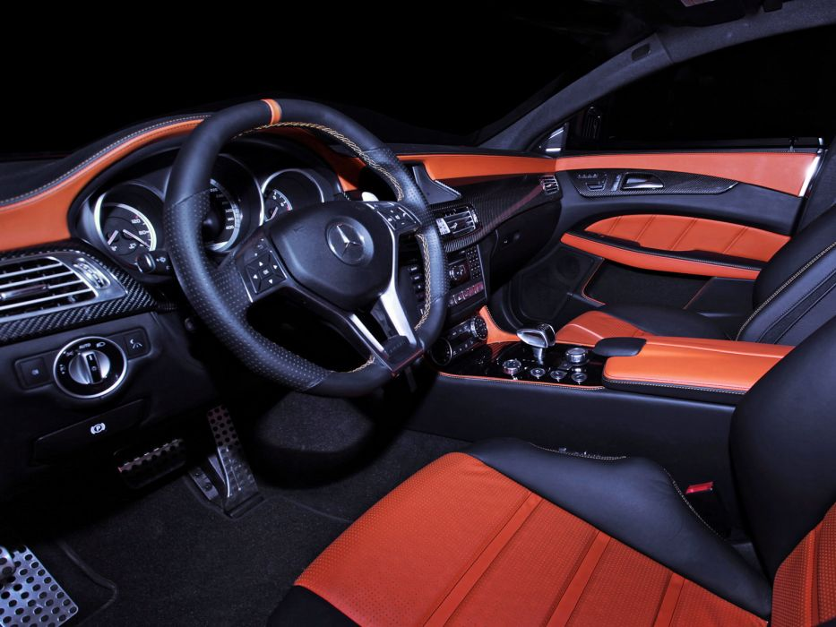 2013 GSC Mercedes Benz CLS63 AMG Stealth B-S (C218) tuning interior f wallpaper