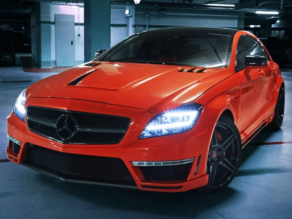 2013 GSC Mercedes Benz CLS63 AMG Stealth B-S (C218) tuning     g wallpaper
