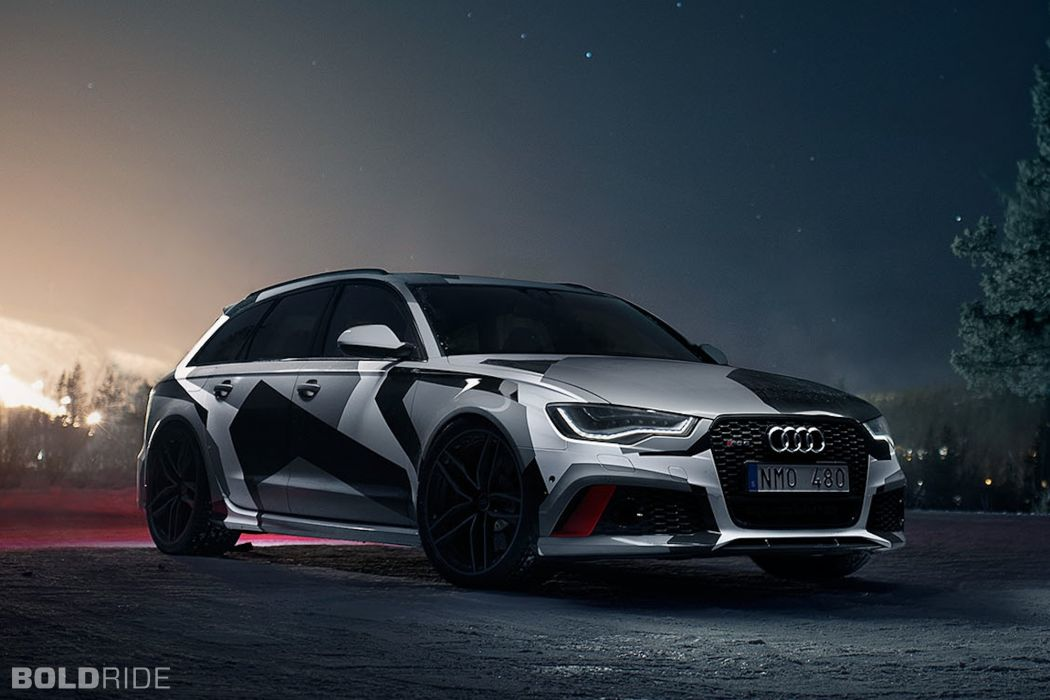 2014 Jon-Olsson Audi RS6 Avant tuning (1) wallpaper