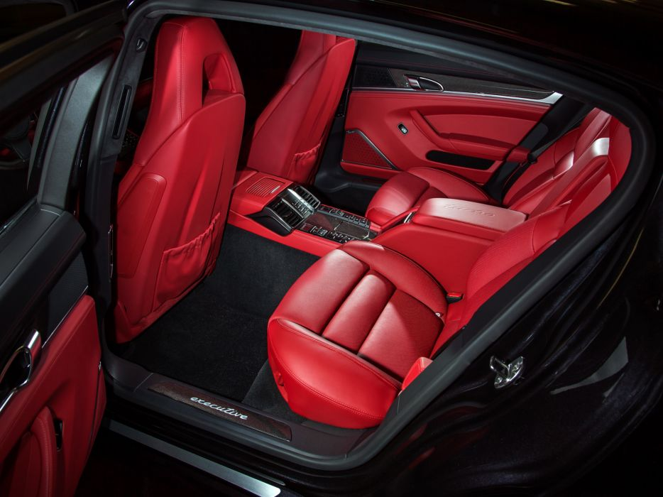 2014 Porsche Panamera Turbo Executive US-spec (970) interior  g wallpaper