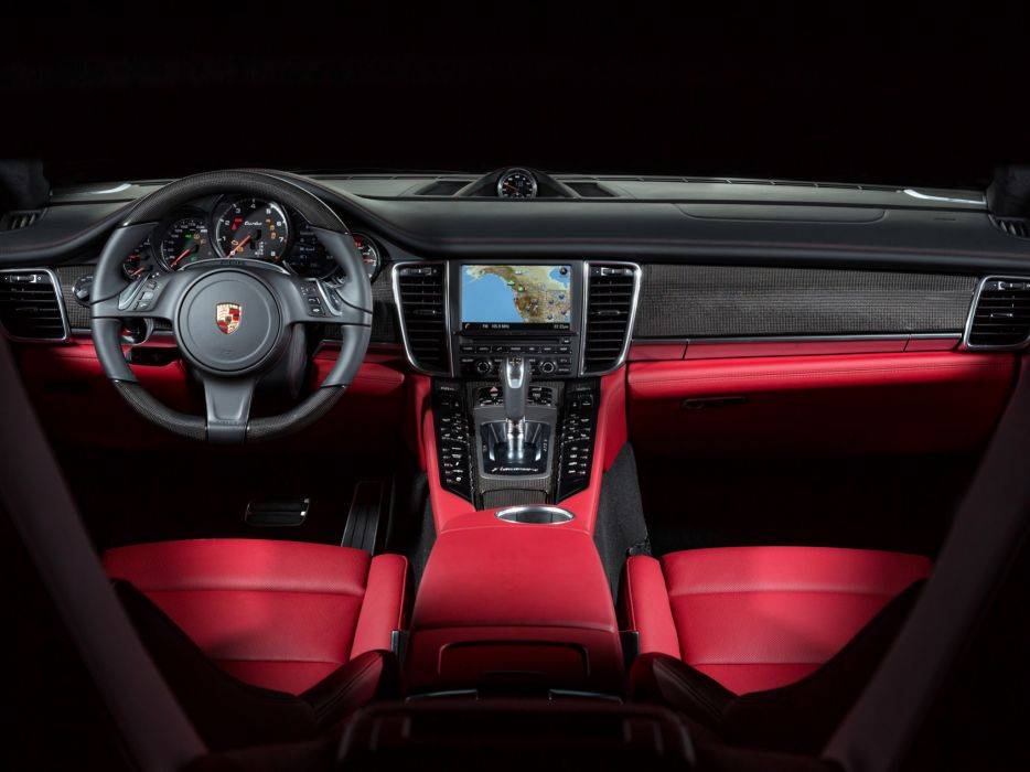 2014 Porsche Panamera Turbo Executive US-spec (970) interior    f wallpaper