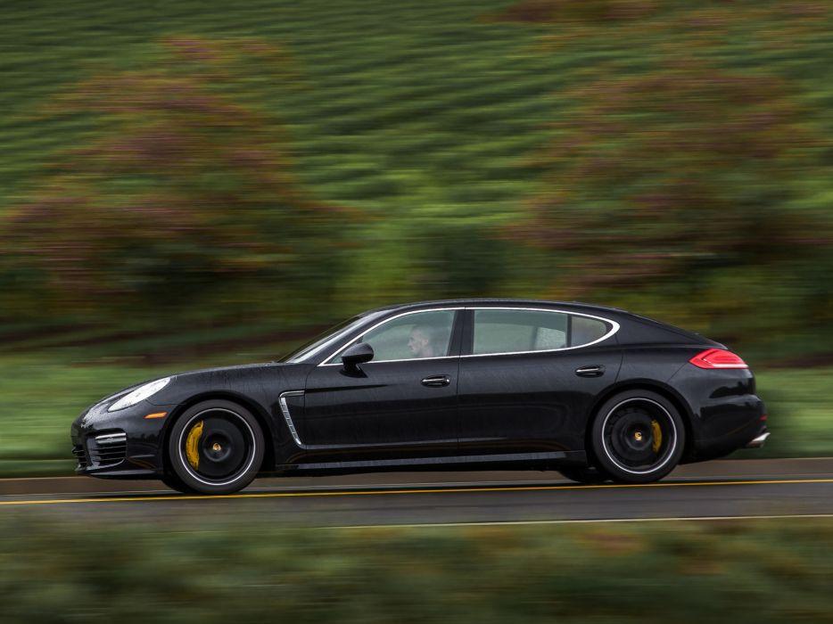 2014 Porsche Panamera Turbo Executive US-spec (970)  f wallpaper