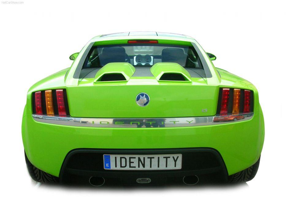 Mazel Identity i1 Concept supercar   f wallpaper