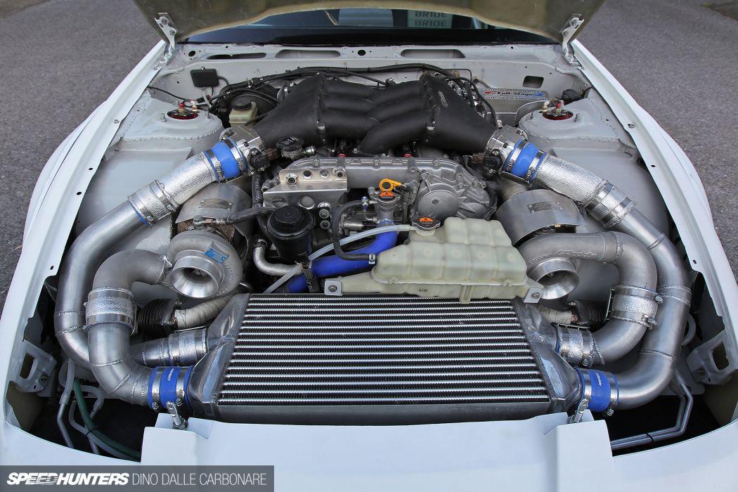 Nissan S13 380SX tuning engine     f wallpaper