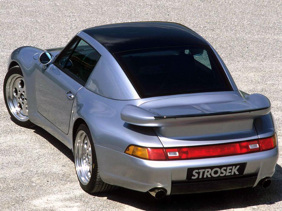 Porsche 911 Turbo (993) supercar tuning   d wallpaper